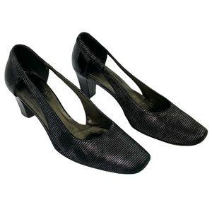 Vintage Roberto Cappuci Leather Italy Heels Sz 8.5